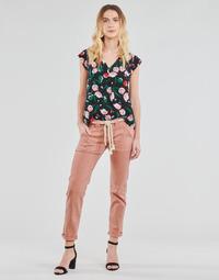Kleidung Damen 5-Pocket-Hosen Le Temps des Cerises EZRA Braun