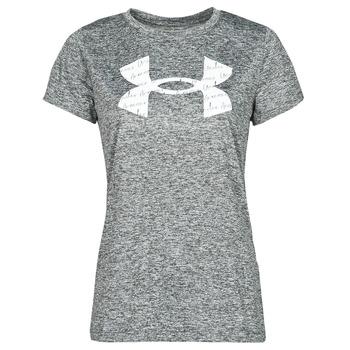 Kleidung Damen T-Shirts Under Armour TECH TWIST BL SSC Grau