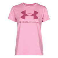 Kleidung Damen T-Shirts Under Armour LIVE SPORTSTYLE GRAPHIC SSC Rose