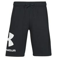 Kleidung Herren Shorts / Bermudas Under Armour UA RIVAL FLC BIG LOGO SHORTS Schwarz