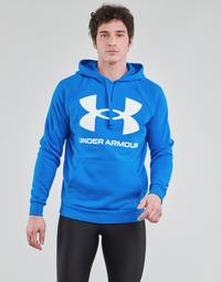 Kleidung Herren Sweatshirts Under Armour UA RIVAL FLEECE BIG LOGO HD Blau