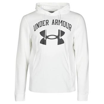 Kleidung Herren Sweatshirts Under Armour UA RIVAL FLEECE BIG LOGO HD Weiss