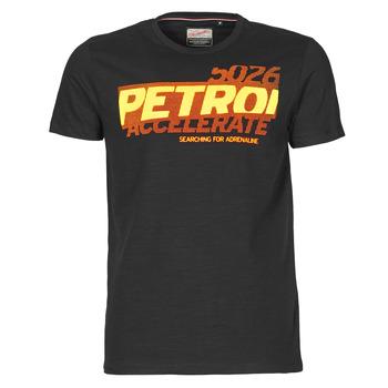 Kleidung Herren T-Shirts Petrol Industries T-SHIRT SS R-NECK F Schwarz