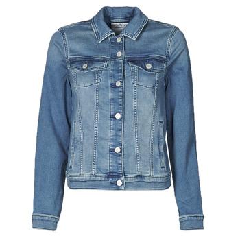 Kleidung Damen Jeansjacken Esprit JOGGER JACKET Blau