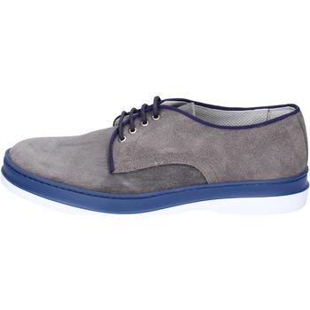 Schuhe Herren Derby-Schuhe & Richelieu Viva Elegante Wildleder Grau
