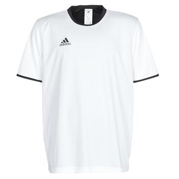 Kleidung Herren T-Shirts adidas Performance TAN REV JSY Weiss