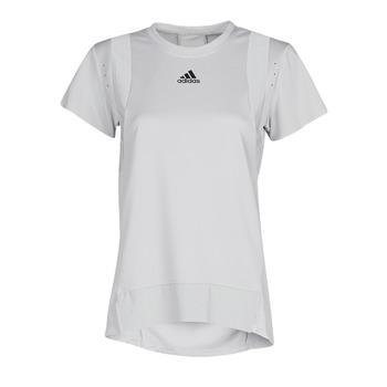 Kleidung Damen T-Shirts adidas Performance TRNG TEE H.RDY Grau