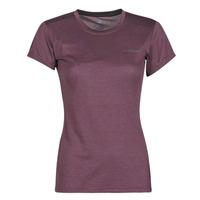 Kleidung Damen T-Shirts adidas Performance W Tivid Tee Violett