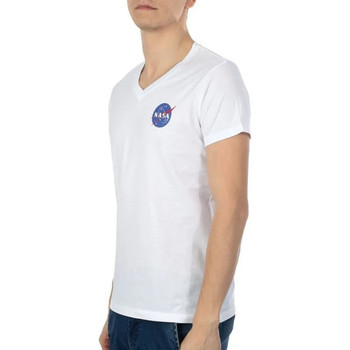 Kleidung Herren T-Shirts Nasa -BALL/V Weiss