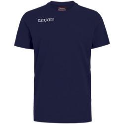 Kleidung Jungen T-Shirts & Poloshirts Kappa T-shirt enfant  Tee bleu royal