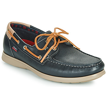 Schuhe Herren Slipper CallagHan EAU Blau