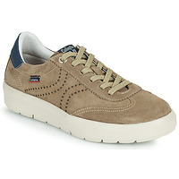 Schuhe Herren Sneaker Low CallagHan RED Beige