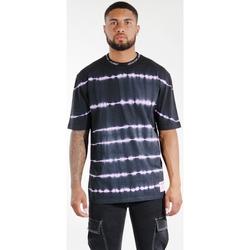 Kleidung Herren T-Shirts & Poloshirts Sixth June T-shirt  Tie & Dye noir/violet