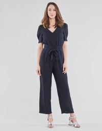 Kleidung Damen Overalls / Latzhosen Naf Naf HEVY D1 Marine
