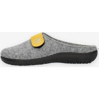 Schuhe Damen Pantoffel Clia Walk FLY6 Grau