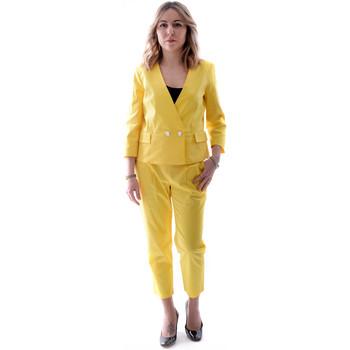 Kleidung Damen Anzüge Fracomina FR20SP090 Gelb