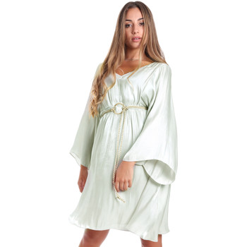 Kleidung Damen Kurze Kleider Fracomina FR20SMELISABETH Grün