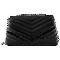 Taschen Damen Handtasche Pieces  Negro