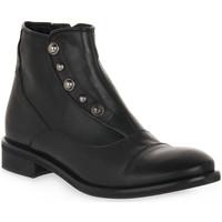 Schuhe Damen Low Boots Priv Lab 3135 SQUAMA NERO Nero