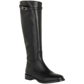 Schuhe Damen Klassische Stiefel Priv Lab NERO NATURE Nero