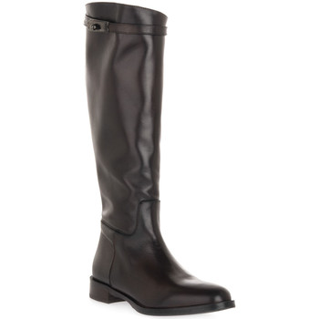 Schuhe Damen Klassische Stiefel Priv Lab MORO NATURE Marrone