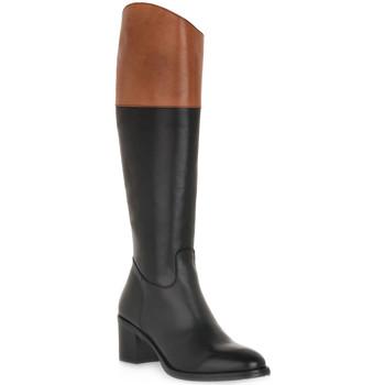Schuhe Damen Klassische Stiefel Priv Lab NATURE NERO Nero