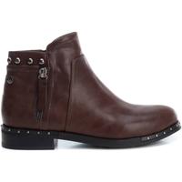 Schuhe Damen Low Boots Xti 49378 MARRON Marrón
