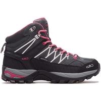 Schuhe Damen Sneaker High Cmp Rigel Mid Wmn WP Grau, Rosa, Graphit
