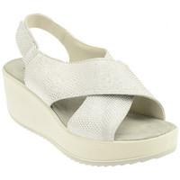 Schuhe Damen Sandalen / Sandaletten Imac 107830ARGENTO/GRIGIOsandale