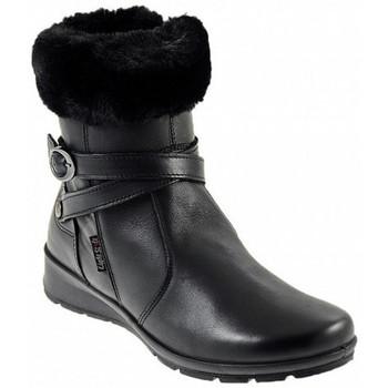Schuhe Damen Low Boots Imac 607060 NERO halbstiefel Multicolor