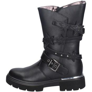 Schuhe Mädchen Klassische Stiefel Asso AG-9259 SCHWARZ