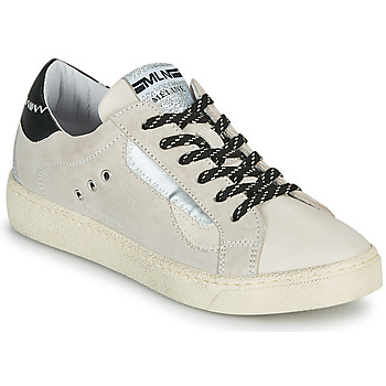 Schuhe Damen Sneaker Low Meline CAR139 Beige / Schwarz