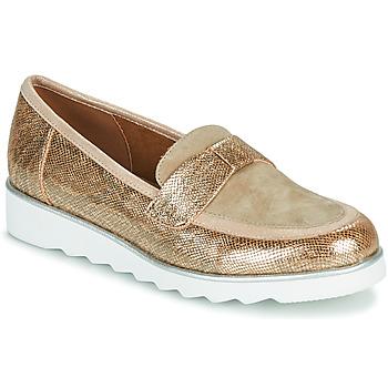 Schuhe Damen Slipper Sweet BETOUN Gold