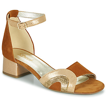 Schuhe Damen Sandalen / Sandaletten Sweet CHINOS Camel
