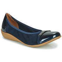 Schuhe Damen Ballerinas Sweet CLAMS Marine