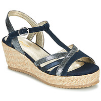 Schuhe Damen Sandalen / Sandaletten Sweet ESNOU Marine