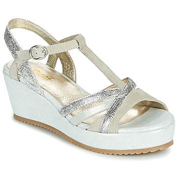 Schuhe Damen Sandalen / Sandaletten Sweet ESNOU Weiss