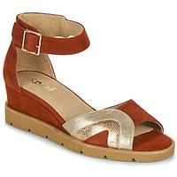 Schuhe Damen Sandalen / Sandaletten Sweet ETUVESS Bordeaux / Gold