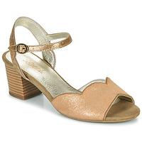Schuhe Damen Sandalen / Sandaletten Sweet GOLFE Gold