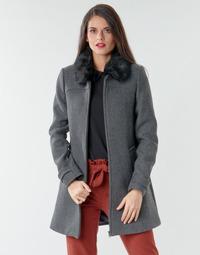 Kleidung Damen Mäntel Naf Naf AZAZOU M1 Grau