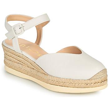 Schuhe Damen Sandalen / Sandaletten Unisa CEINOS Weiss