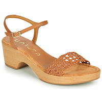 Schuhe Damen Sandalen / Sandaletten Unisa ILOBI Camel