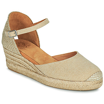 Schuhe Damen Sandalen / Sandaletten Unisa CISCA Beige