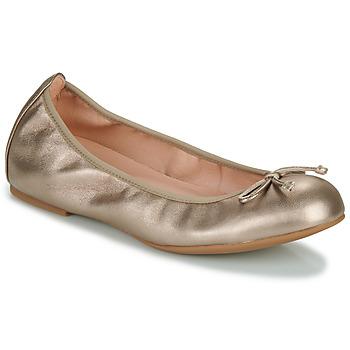 Schuhe Damen Ballerinas Unisa ACOR Champagne