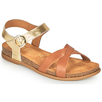 Schuhe Damen Sandalen / Sandaletten Unisa CINCEL Camel