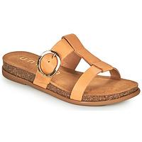 Schuhe Damen Pantoffel Unisa CIVETA Camel