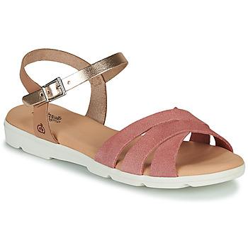 Schuhe Mädchen Sandalen / Sandaletten Citrouille et Compagnie OBILOU Rose
