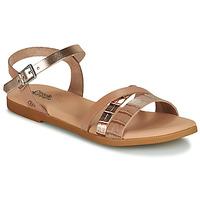 Schuhe Mädchen Sandalen / Sandaletten Citrouille et Compagnie OBINOU Gold
