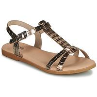 Schuhe Mädchen Sandalen / Sandaletten Citrouille et Compagnie OBIS Braun