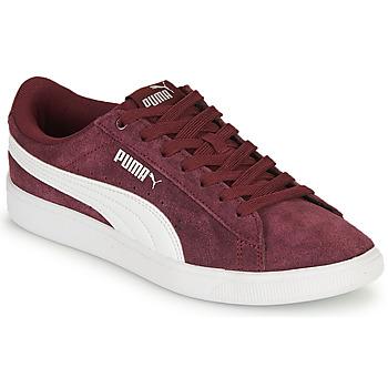 Schuhe Damen Sneaker Low Puma VIKKY Bordeaux